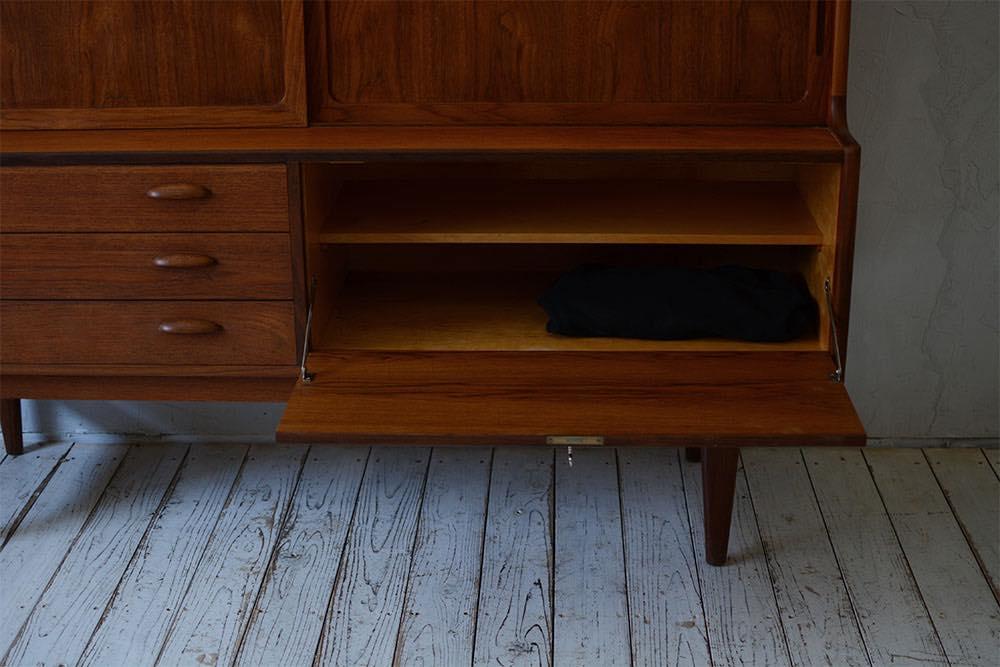 ビンテージ 北欧インテリア チーク キャビネット 収納家具