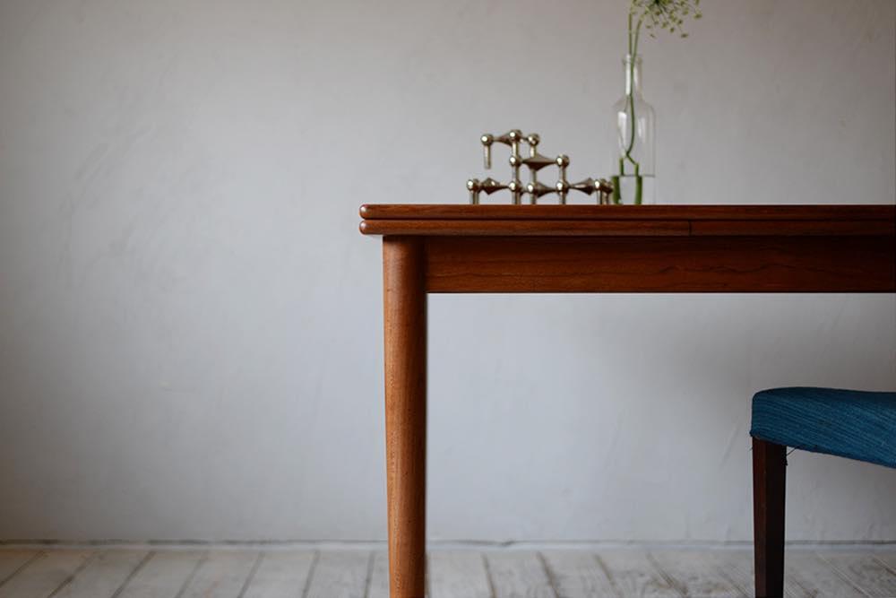 ビンテージ 北欧インテリア ダイニングテーブル チーク