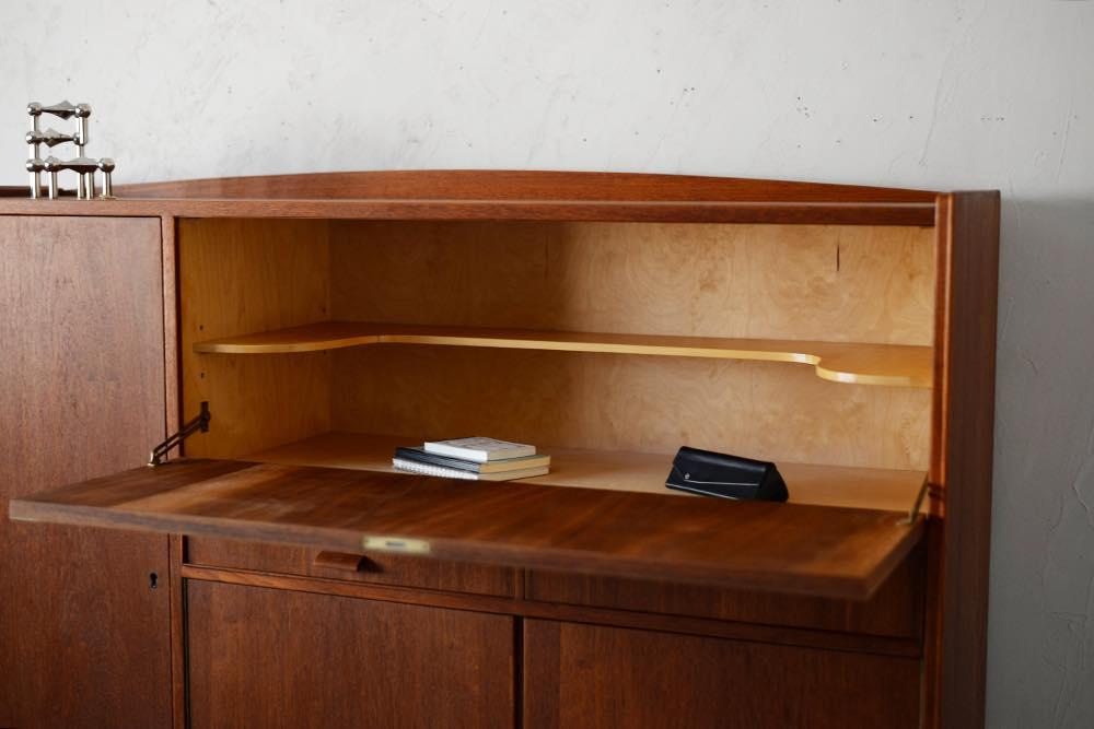 ビンテージ 北欧インテリア チーク オーク キャビネット 収納家具