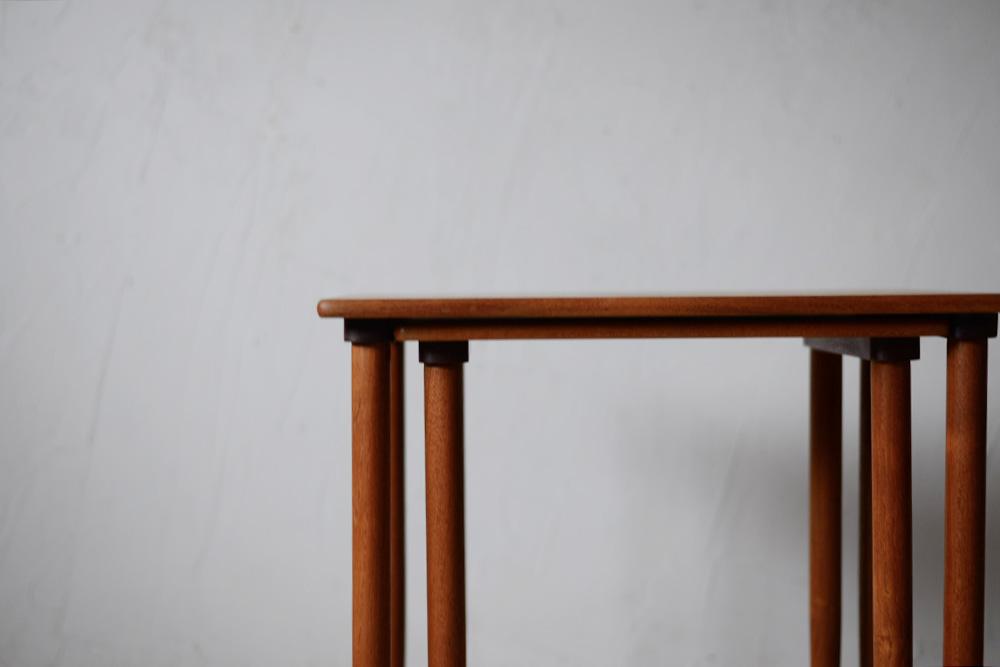 ビンテージ 北欧インテリア ネストテーブル チーク