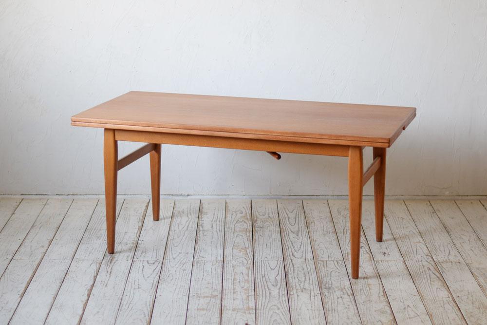 北欧ビンテージ,サイドテーブル,チーク